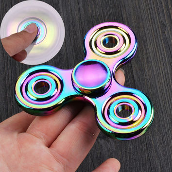 Colorful EDC Hand Fidget Spinner Torqbar Autism Finger Focus Fidget Toy Children Gift
