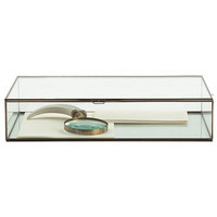Arteriors Home Fuller Large Glass Document Box - Arteriors Home 6355