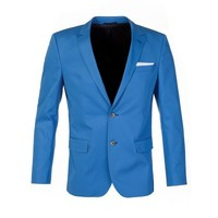 Hugo Boss Sky Blue Hutsons Jacket - Suits & Fitted Jackets