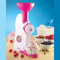 Nostalgia Electrics MTC100 Mix 'N Twist Ice Cream and Toppings Mixer