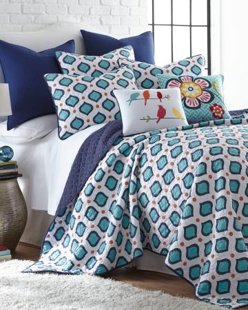 Reed Geo Print Luxury Quilt Collection From Stein Mart