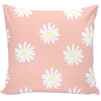 Crazy Daisy Accent Pillow