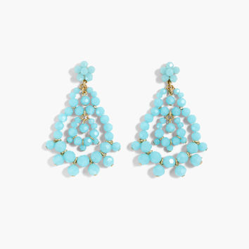 Beaded rumba earrings