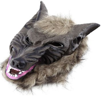 Animal Wolf Head Mask