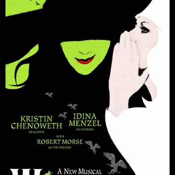Wicked Broadway Show Poster 11x17
