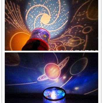 Romantic Outer space Projector Light autorotate Lamp Gift NEW (Size: M, Color: Multicolor) = 1929986820