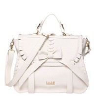 Brigitte Bow Flap Over Satchel | Handbags | Kate Hill