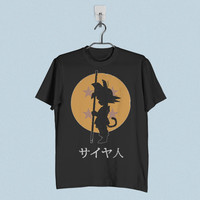 Men T-Shirt - Dragon Ball Z Goku Logo