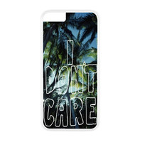 I Don't Care Palm Trees Case