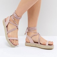 Pieces Espadrille Sandal at asos.com