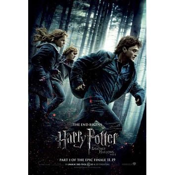 Harry Potter and the Deathly Hallows: Part I 27x40 Movie Poster (2010)