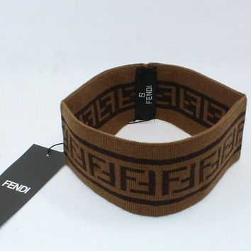 Perfect Fendi Fashion Edgy Crochet  Hair band