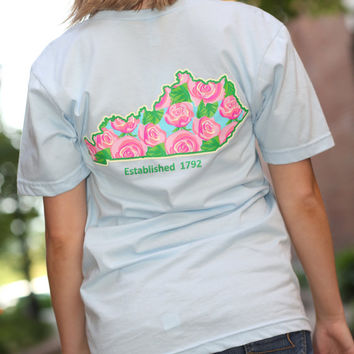 Lilly Inspired Kentucky American Apparel Tshirt - V-neck tshirt - Lilly