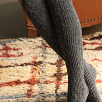 Warm and Wool Boot Socks (Charcoal)