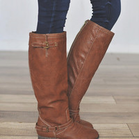 Outlaw Boot- Brown