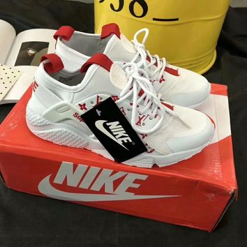 nike lv supreme fashion casual all match elasticity unisex sneakers couple running shoes