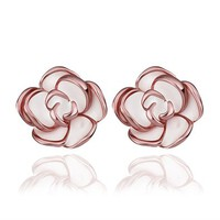 MLOVES Women's Classical Korean Style Delicate Flower Ear Cuffs