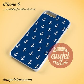Anchor In Blue Phone case for iPhone 6 and another iPhone devices