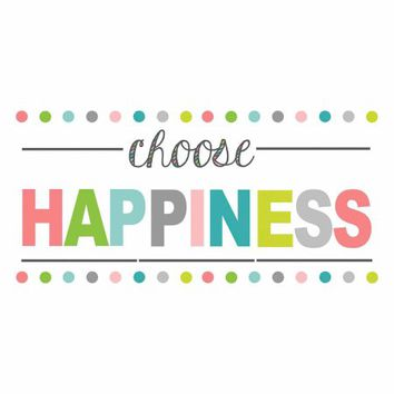 WallPops Choose Happiness Wall Quote Decal - Walmart.com