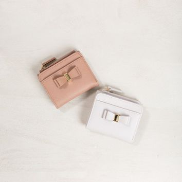Tiffie Bow Wallet