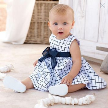 Baby dress/Baby clothes/Climbing clothes/2016 Children' sleeveless dress