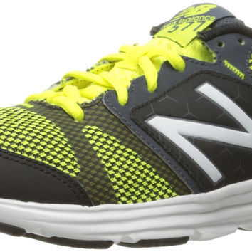 New Balance Men's 577v4 CUSH+ Training Shoe Grey/Yellow 9.5 4E US '
