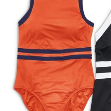 Buy Monochrome Sports Swimsuit from the Next UK online shop