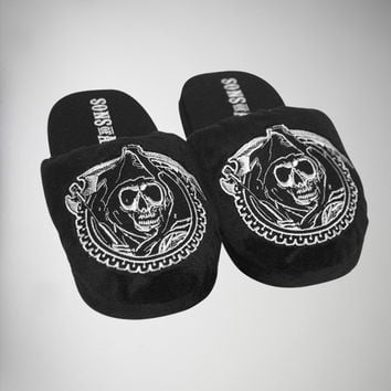 Sons of Anarchy Logo Slippers