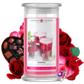 Enchanting | Valentine's Day Scented Jewelry Candle