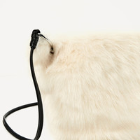 FAUX FUR CROSSBODY BAGDETAILS