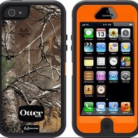 iPhone 5 OtterBox Defender Series Case-Realtree Xtra Camo-NEW CAMO!- Retail Pack