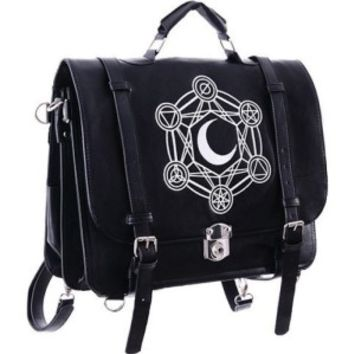 Restyle Moon Messenger Satchel Back Pack