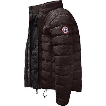 Canada Goose Mens Brookvale Jacket - Charred Wood (Brown)