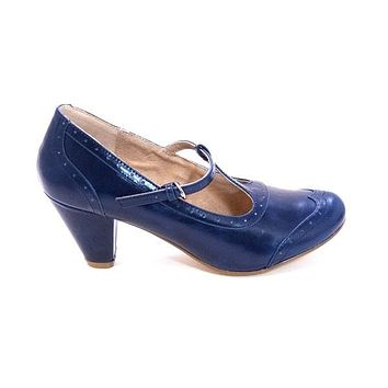 Chelsea Crew Molly - Blue Mary Jane Pump