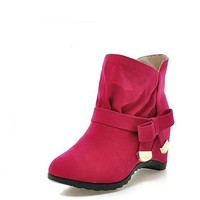 Increased within short  Martin boots short tube single boots for womens