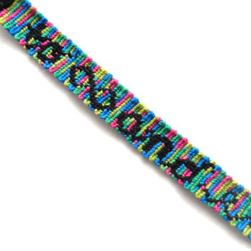To Infinity and Beyond Multicolor Handmade Friendship Bracelet