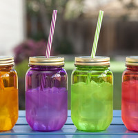 Mason Jar Travel Cups