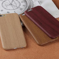 TPU imitation wood phone case for iphone 7 7 plus 5 5s SE 6 6s 6plus 6s plus + Nice gift box! -LJ-005