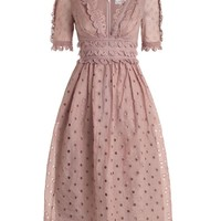Winsome Tea Midi Dress
