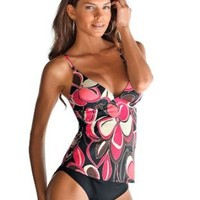 Noble Push Up Tankini-Designed by Lascana, two pieces, (VBUSAO-491104-f2708)