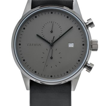 TXM085 - Black Leather NATO