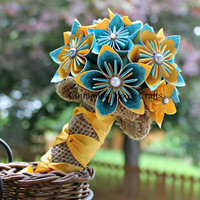 Complete Wedding Flower Set, Customized *FREE SHIPPING to U.S.*