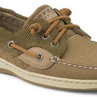 Sperry Top-Sider Ivyfish Quilted 3-Eye Boat Shoe Brown/Tan, Size 8M  Women's Shoes