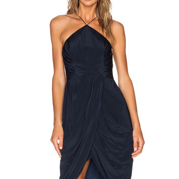 Zimmermann Tuck Dress in French Navy