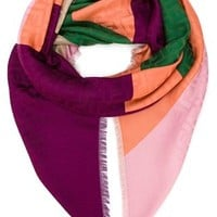 Fendi Colour Block Scarf - Stefania Mode - Farfetch.com