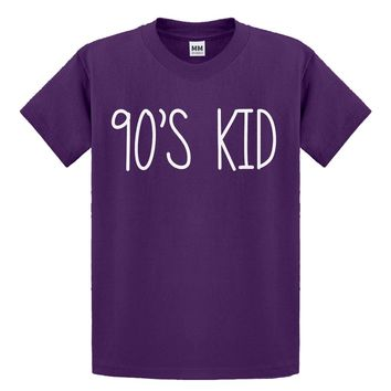 Youth 90s Kid Kids T-shirt