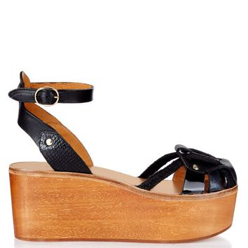 Zelie wooden flatform sandals | Isabel Marant | MATCHESFASHION.COM US