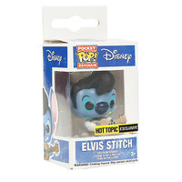 Funko Disney Lilo & Stitch Pocket Pop! Elvis Stitch Key Chain Hot Topic Exclusive