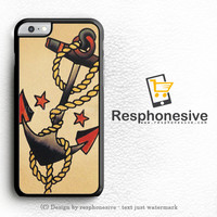 Anchor Tattoo Style Sailor Pirate iPhone 6 Case