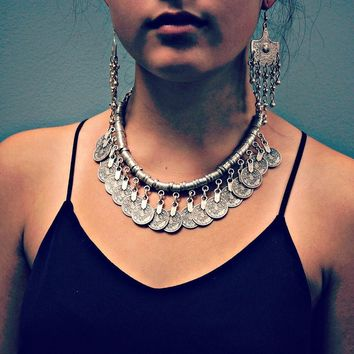 Stylish New Arrival Gift Jewelry Shiny Vintage Tassels Accessory Necklace [1292354224195]
